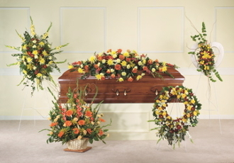 Funeral Flowers Los Angeles Tribute Flower Arrangements